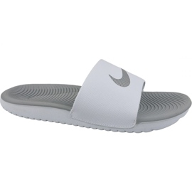 Wit Slippers Nike Kawa Slide 834588-100