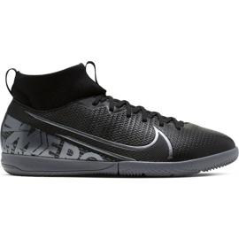 Voetbalschoenen Nike Mercurial Superfly 7 Academy Ic Jr AT8135 001 zwart