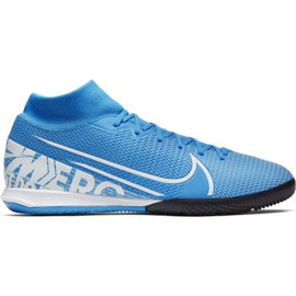 Voetbalschoenen Nike Mercurial Superfly 7 Academy Ic M AT7975 414 blauw