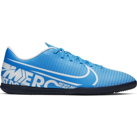 Voetbalschoenen Nike Mercurial Vapor 13 Club Ic M AT7997 414 blauw