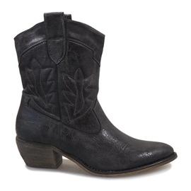 Grijs Grijze cowgirl laarzen 10601-1