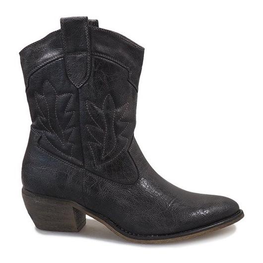 Grijze cowgirl laarzen 10601-1 grijs