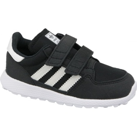Zwart Adidas Originals Forest Grove Cf Jr B37749 schoenen