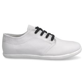 Zwart Heren sneakers 5307 Wit