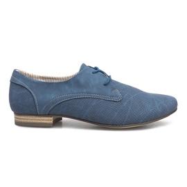 Blauwe schoenen Simone Jazzówki