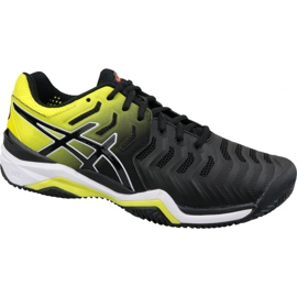 Zwart Tennisschoenen Asics Gel-Resolution 7 Clay M E702Y-003