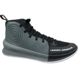 Under Armour Jet M 3022051-001 basketbalschoenen zwart veelkleurig