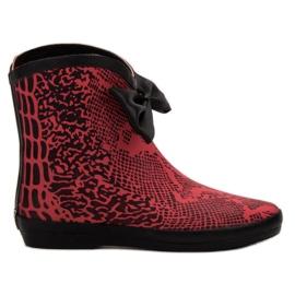 Kylie hoge schoen rood