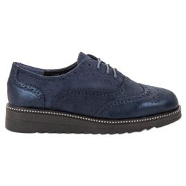 Bestelle blauw Platform schoenen