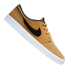 Bruin Nike Sb Solarsoft Portmore Ii M 880266-700 schoenen
