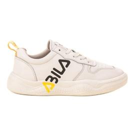 Ax Boxing wit Modieuze sportschoenen