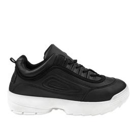 Zwarte sportschoenen sneakers GL808
