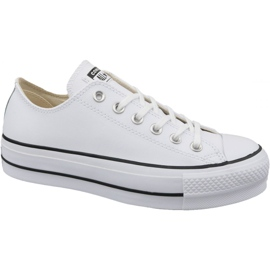 Wit Converse Chuck Taylor All Star Lift Clean Ox W 561680C