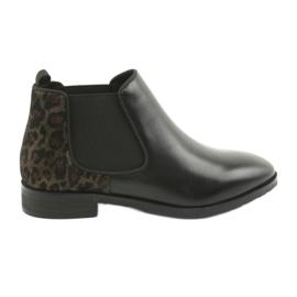 Zwarte laarzen Jodhpur Caprice 25327 zwart
