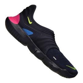 Marine Nike Free Rn Flyknit 3.0 M AQ5707-400 schoenen