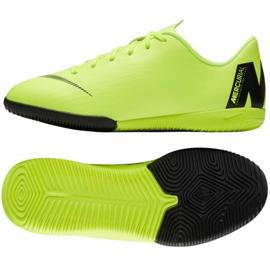 Nike Mercurial VaporX 12 Academy Gs Ic Jr AJ3101 701 groene schoenen