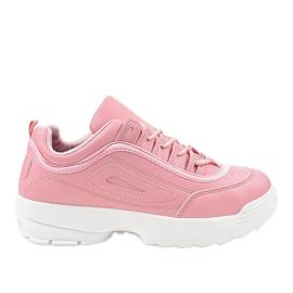 Roze sportschoenen sneakers GL808