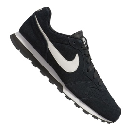 Zwart Nike Md Runner 2 Suede M AQ9211-004 schoenen