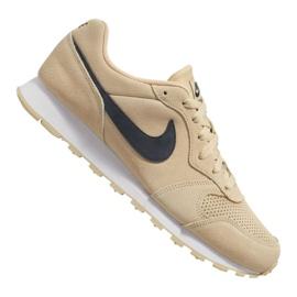 Bruin Nike Md Runner 2 Suede M AQ9211-700 schoenen