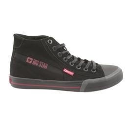 Zwarte Big Star 174084 sneakers