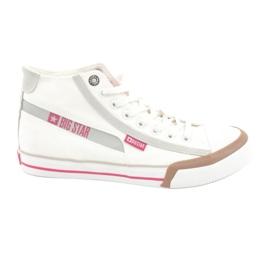 Heren sneakers Big Star 174080 wit