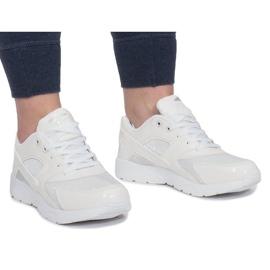 LD34B-3 Sportschoenen Wit