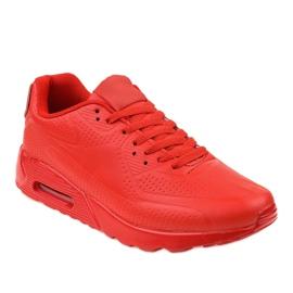 Rood Rode heren sportschoenen