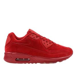 Rood Rode heren sportschoenen 55109-2