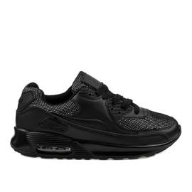 Zwarte sportschoenen sneakers B306A-61S