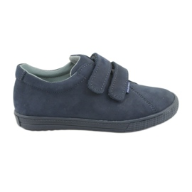 Jongensschoenen Velcro Mazurek 268 marineblauw