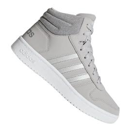 Grijs Adidas Hoops Mid 2.0 K Jr F35796 schoenen
