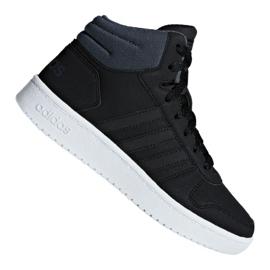 Zwart Adidas Hoops Mid 2.0 K Jr F35797 schoenen