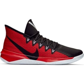 Nike Zoom Evidence Iii M AJ5904 001 schoenen zwart en rood zwart, rood