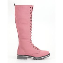 Seastar roze Veterschoenen voor dames