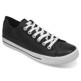 Sport Sneakers Leer Ydb Zwart