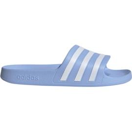 Blauw Adidas Adilette Aqua W EE7346 slippers