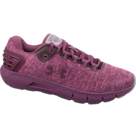 Rood Under Armour Charged Rogue Twist W 3022686-500 hardloopschoenen