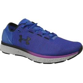 Blauw Under Armour Charged Bandit 3 W hardloopschoenen 1298664-907