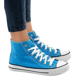 Blauwe klassieke hoge sneakers DTS8224-16