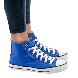 Blauwe klassieke hoge sneakers DTS8222-14