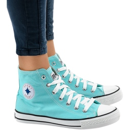 Groen Mint classic hoge sneakers DTS8224-13