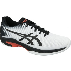 Asics Solution Speed ​​Ff Indoor M 1041A110-102 tennisschoenen wit