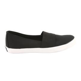 American Club slip-on sneakers zwart