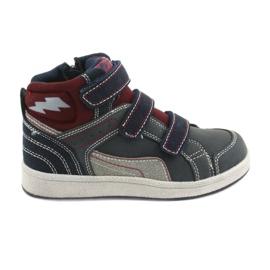American Club ES27 hoge sneakers marineblauw
