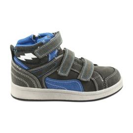 Grijs American Club ES27 grijze hoge sneakers