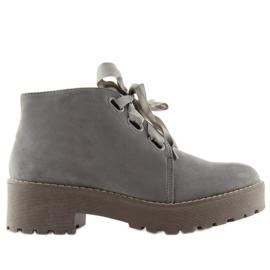 Laarzen damesschoenen grijs LL219 grijs