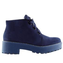 Marine Damesschoenen donkerblauw LL219 Blauw