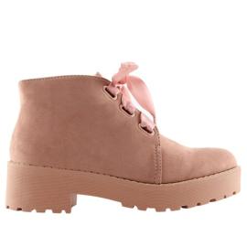 Laarzen dames roze LL219 Pink