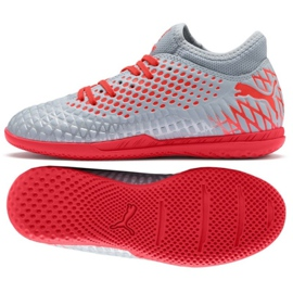 Puma Futrure 4.4 It Jr 105700 01 grijze schoenen