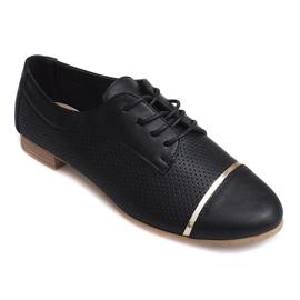 Openwork Jazz dames lage schoenen 6-154 zwart